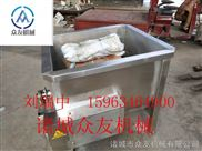 120型-精品烫锅家禽脱毛机配电加热式烫锅烫池