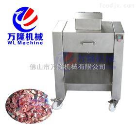 QG-200全不锈钢带骨切割机 切鸡块机 排骨切丁机