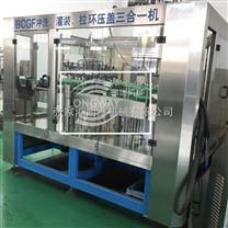 玻璃瓶果汁酵素灌装机生产线