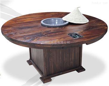 蒸汽火锅桌 格匠尚蒸鼎蒸汽火锅配套桌子 海鲜火锅桌