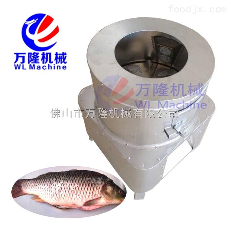不锈钢去鱼鳞机 供应刮鱼鳞器 鱼类去鳞设备