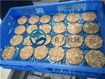 自动加工鸡肉饼成型机设备