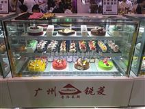 多層直角蛋糕展示柜