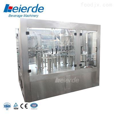 玻璃瓶果汁灌装生产线