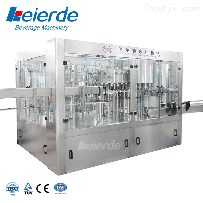 全自动瓶装矿泉水灌装生产线设备