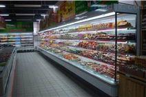 超市保鲜点菜风幕柜立式饮料柜蛋糕展示柜