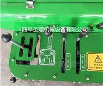 多功能果園管理機 履帶式開溝施肥機