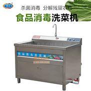 赣云净菜加工设备1.2米食品消毒洗菜机