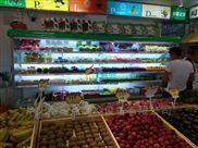 敞开式立式五层展示水果超市保鲜柜