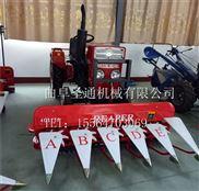 150型宽幅稻草收割机 四轮前置式割台厂家