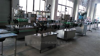 DG型產量為3000瓶含汽飲料瓶裝生產線