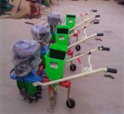 四行手推式带六挡调节的蔬菜播种机