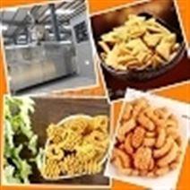 供应浙江温州休闲食品膨化挤压机设备机械