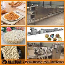 休闲食品油炸干脆面、厂家方便面生产设备