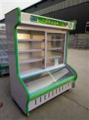 河南水果保鲜风幕柜厂家 商用冰柜冷柜批发