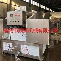 湖北黄冈专供温度可调型豆腐条油炸机