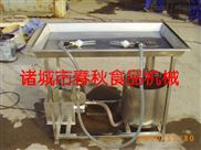 牛羊肉平台盐水注射机/双枪手动盐水扎孔机价格/半自动入味机