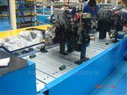 不锈钢板链输送机,机械零件装配链板输送线