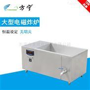 大型油炸设备食品厂电磁单缸炸炉电磁油炸锅方形工业电磁炸炉食品厂电炸炉