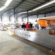 新式鲜玉米全自动真空包装机生产线新设计