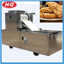 上海合强直销酥性饼干托盘机 桃酥加工机器