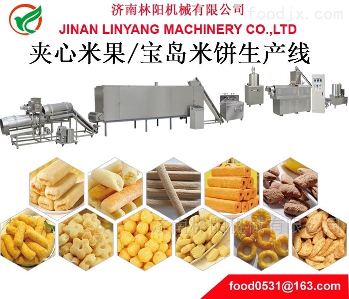 夹心米饼生产线