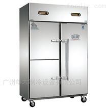 自贡市横拉手门厨房冷柜