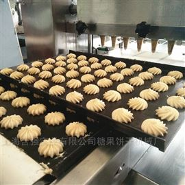 HQ-CK400/600型食品机械 电脑曲奇扭花机 6孔饼干成型机