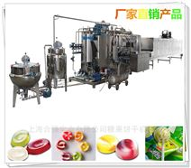 全自动硬糖浇注生产线 喷花硬糖生产设备 伺服糖果机