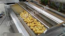 翻滚毛刷式土豆清洗机