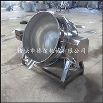 德爾供應500L可傾攪拌夾層蒸煮鍋 燃氣加熱