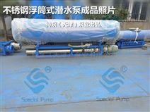 临时取水用浮筒式潜水泵