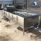 MK-QP22-6000蔬菜网链式气泡清洗机