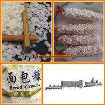 白色块状针状屑面包糠生产线设备