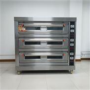 三层九盘电热烤箱 面包房食品烘焙设备