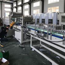 高速直線式膜包機瓶裝水飲料熱收縮膜包裝機