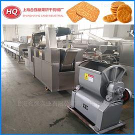 HQ-250小型加工饼干设备  合强食品机械厂家