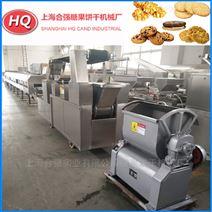 酥性韧性饼干生产线 全自动饼干机
