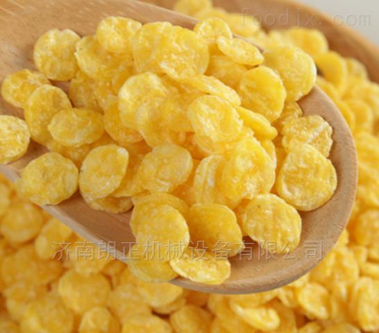 湖南早餐谷物玉米片麦片设备生产线原装现货