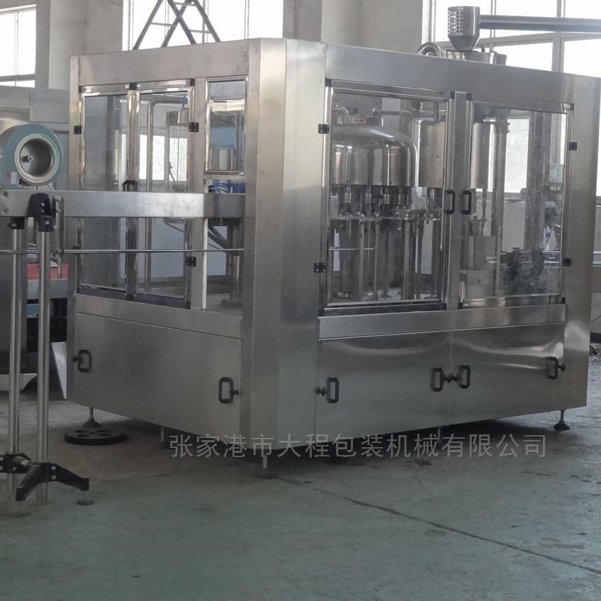 饮料生产设备厂家不锈钢矿泉水三合一灌装机