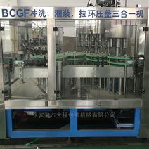 全自动三合一果蔬果汁谷物饮料灌装机