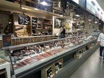 供应格晨超市鲜肉柜厂家
