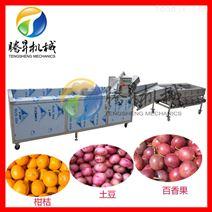腾昇机械供应不锈钢自动清洗分选生产线