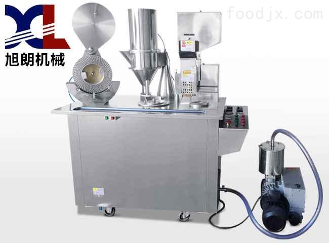 广州半自动胶囊填充机,感冒药胶囊充填机