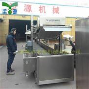 LY-8.5-全自动豆制品油炸流水线 鱼豆腐油炸流水线  黄花鱼油炸线哪有卖的