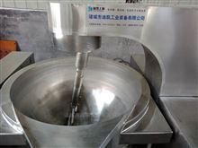不锈钢电加热芝麻丸馅料刮底搅拌炒锅