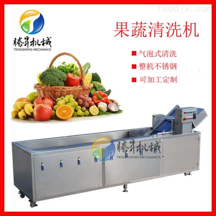 厂家直销多功能清洗机气泡清洗大白菜洗菜机