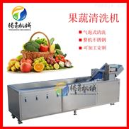 净菜生产设备 叶菜瓜果清洗机 连续式洗菜机