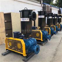 厂家直销三叶罗茨鼓风机污水处理风机增氧泵