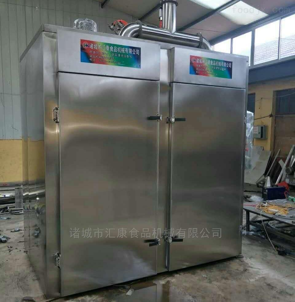 QYX-500型-生产猪耳朵烟熏箱 鹌鹑蛋蒸熏箱 汇康制造